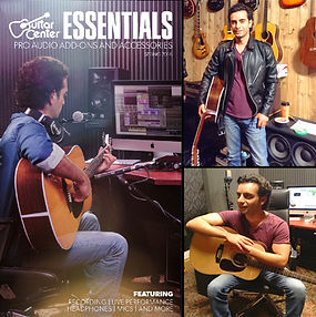 Arsi Nami in Guitar Center Commercial