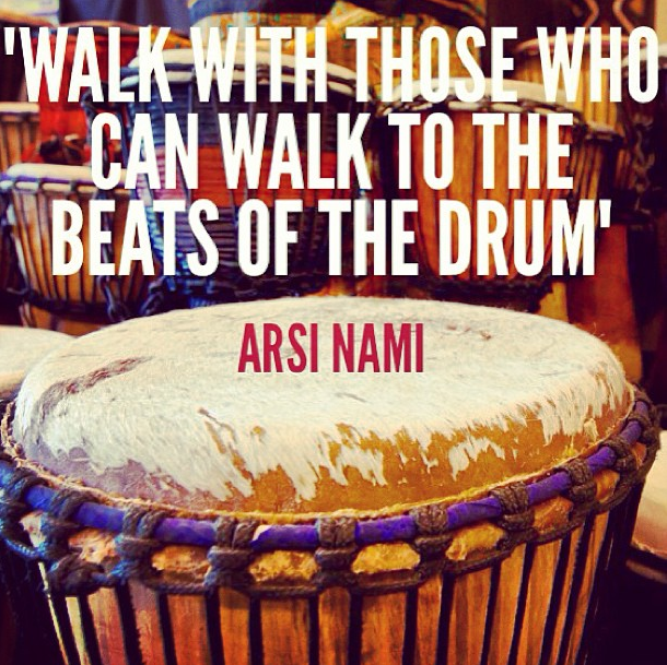 "Flickr - ""Walk with those who can walk to the beats of the drum"" - Arsi Nami"