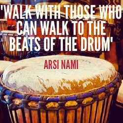 """Flickr - """"Walk with those who can walk to the beats of the drum"""" - Arsi Nami"""