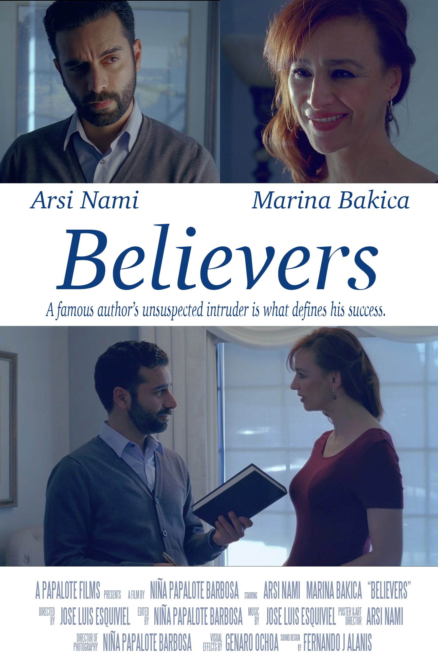 Arsi Nami as author in Believers