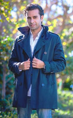 Arsi Nami trench coat