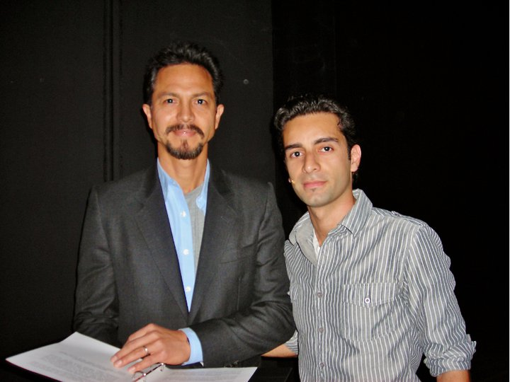 Flickr - Benjamin Bratt (Actor) & Arsi Nami (Singer & Songwriter)