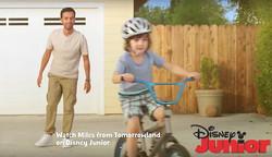 Arsi Nami in Disney commercial