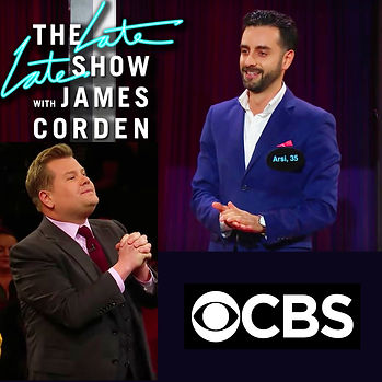 Arsi Nami on The Late Late show with James Corden