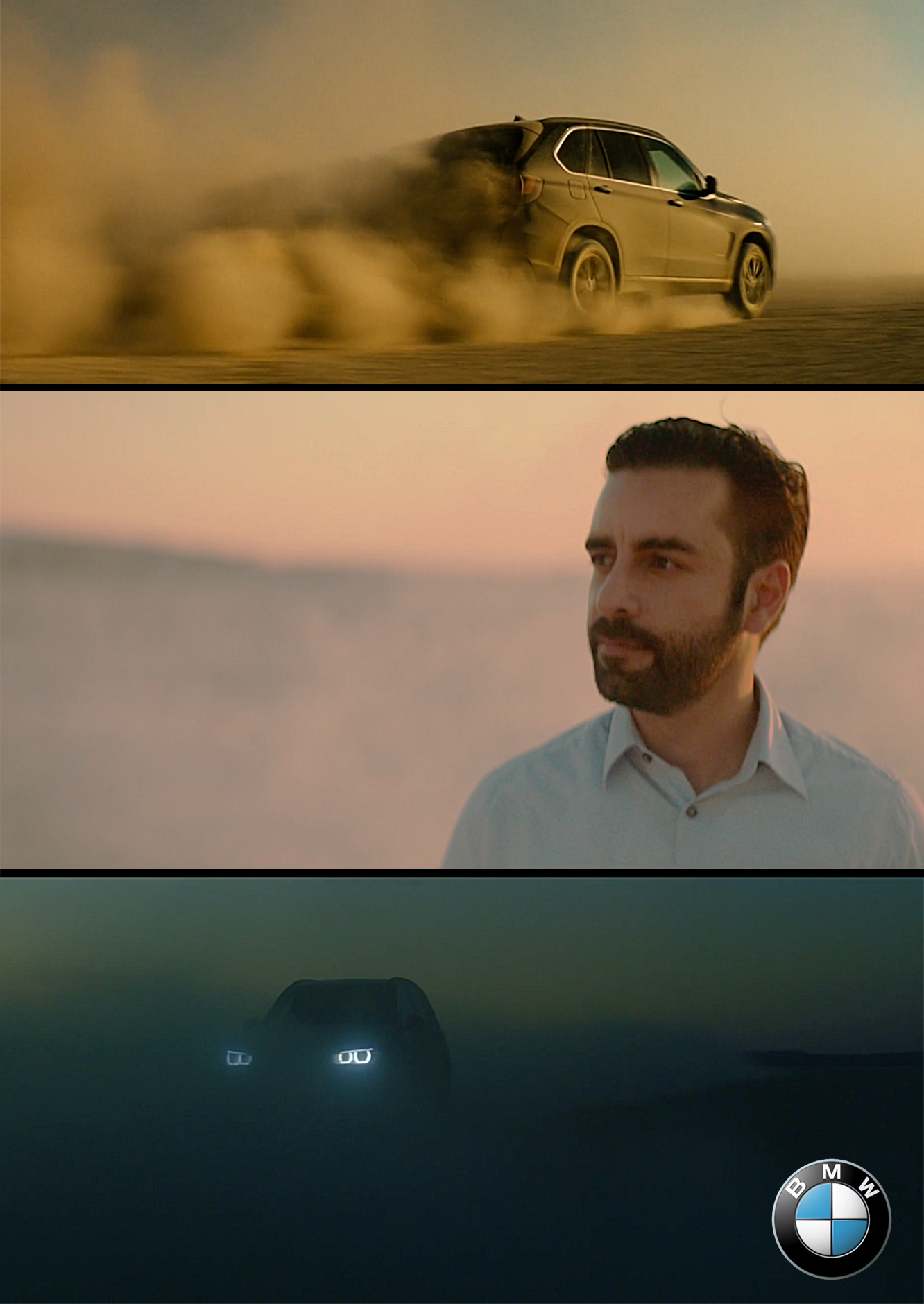 Arsi nami in a BMW commercial