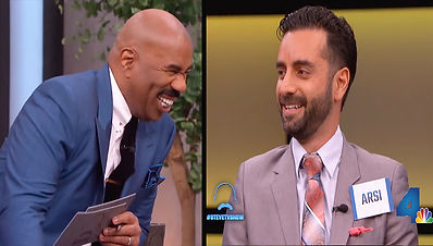 Arsi Nami and Steve Harvey