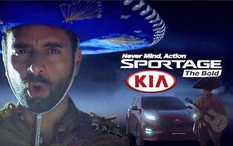 Arsi Nami in Kia Sportage commercial