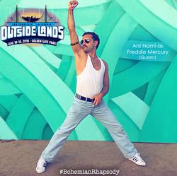 Arsi Nami as Freddie Mercury