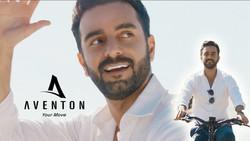 Arsi Nami in Aventon bikes ad