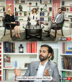 Arsi Nami guest on GEM TV
