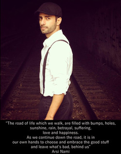 """Flickr - Arsi Nami Quote:  """"The road of life which we walk, are filled with bump"""