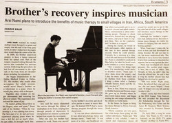 Flickr - Arsi Nami on Sun Dial News Paper - Music Therapy saving his and his bro