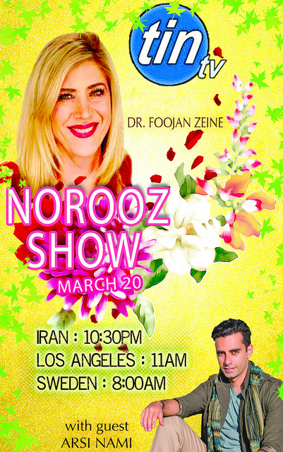 Guest Artist at Tin TV's Persian Norooz Show