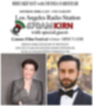 Arsi Nami guest on Radio 670 am Los Angeles - KIRN with Homa Sarshar