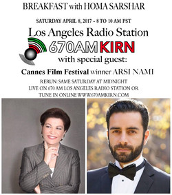 Arsi Nami guest on L.A 670am radio