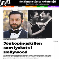 Arsi Nami in Sweden Newspaper