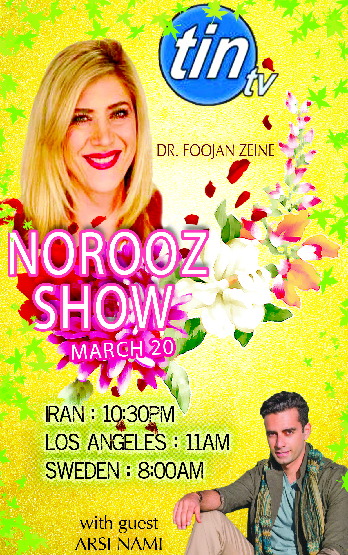 Flickr - Arsi Nami guest on Tin TV's Norooz Show hosted by Dr.jpg