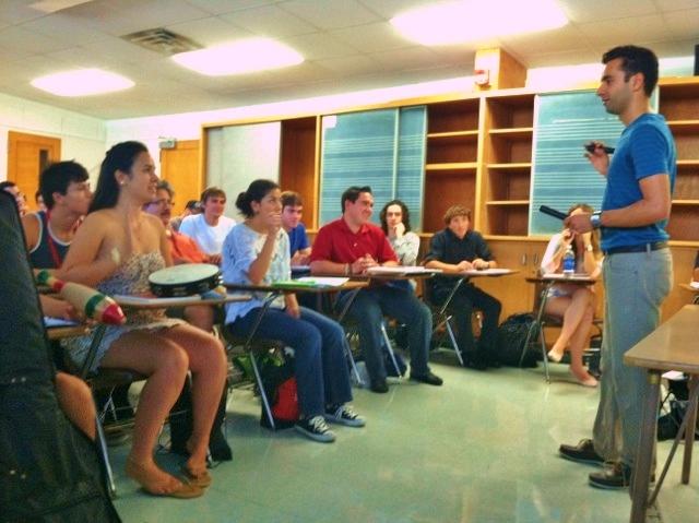 Arsi Nami guest CSUN music therapy