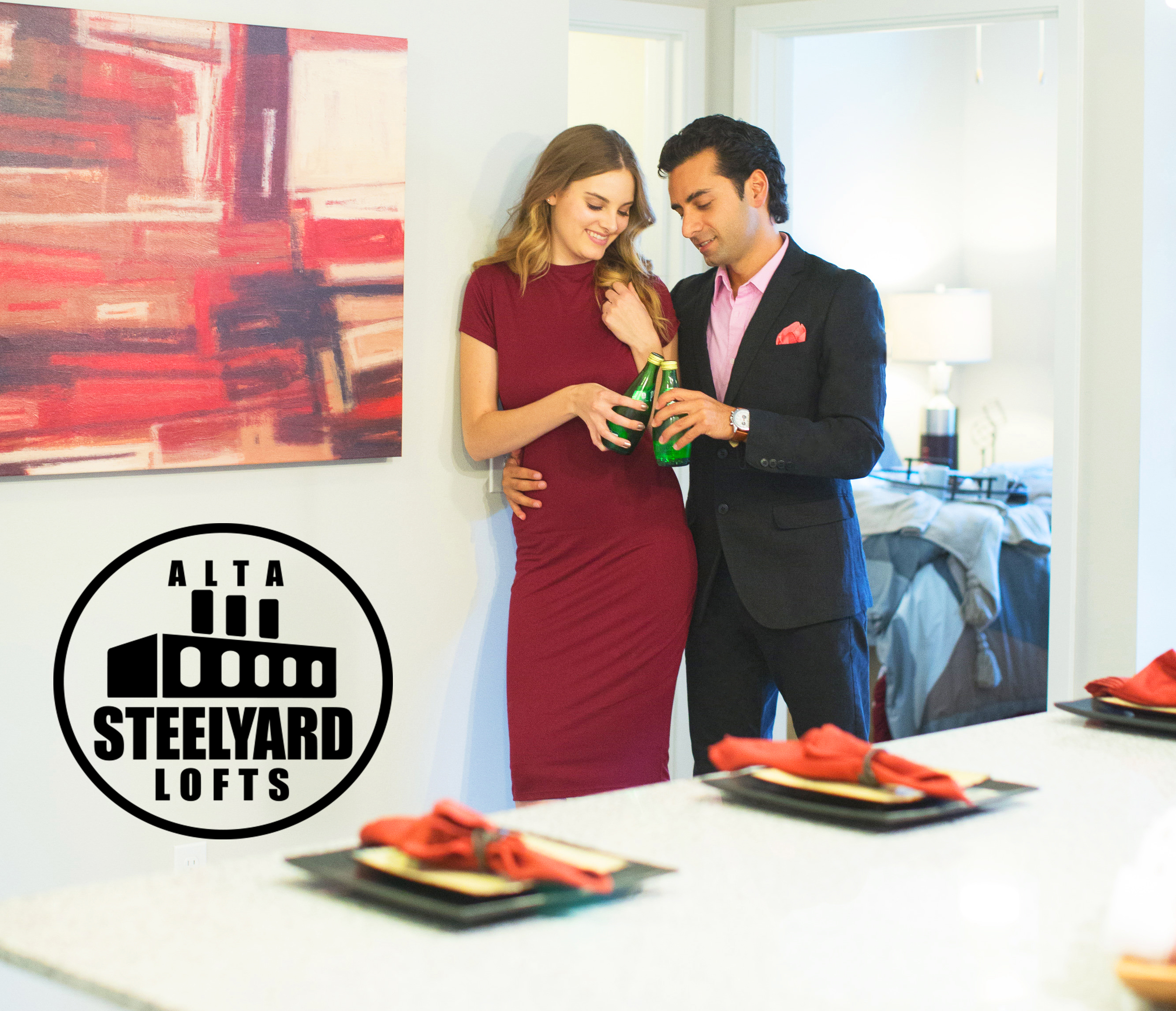 Alta Steel Yard Lofts Feature model