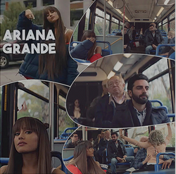 Arsi Nami in Arian Grande MusicVideo