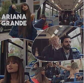 Arsi Nami in Ariana Grande Music Video