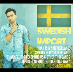 """Flickr - """"Iran is my motherland, Sweden my fatherland.png"""