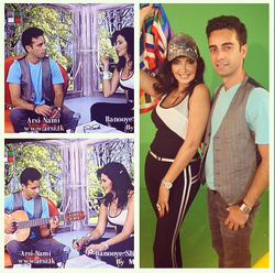 Flickr - Arsi Nami guest on Iran TV Banooye Sharghi Show with Mahroo