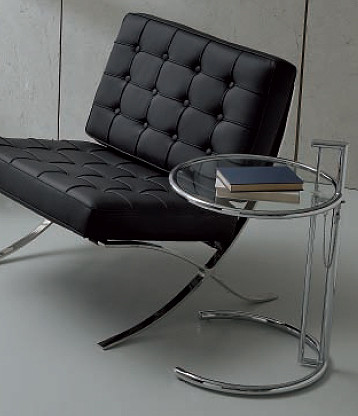 Table basse italienne verre/Chrome Freak | MISE EN SCENE ...