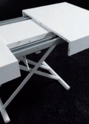 Table basse Block relevable extensible Wengé | MISE EN SCENE ...