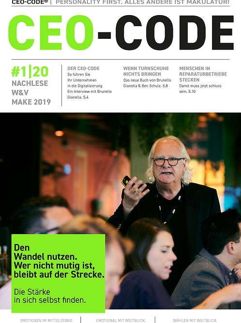 CEO-CODE | NEWSLETTER 1-20