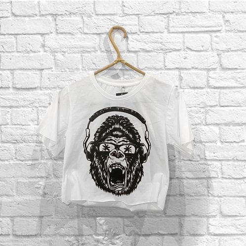 Wild Gorilla Crop Top