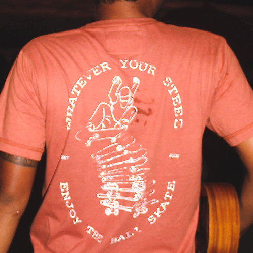 Whatever Your Steez T-Shirt - Bali Skate