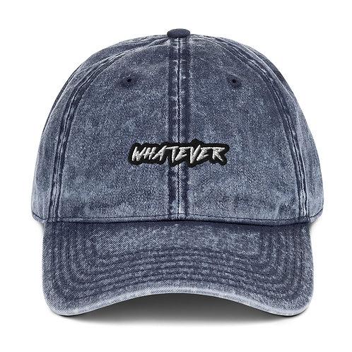 Whatever Classic Vintage Cotton Twill Cap