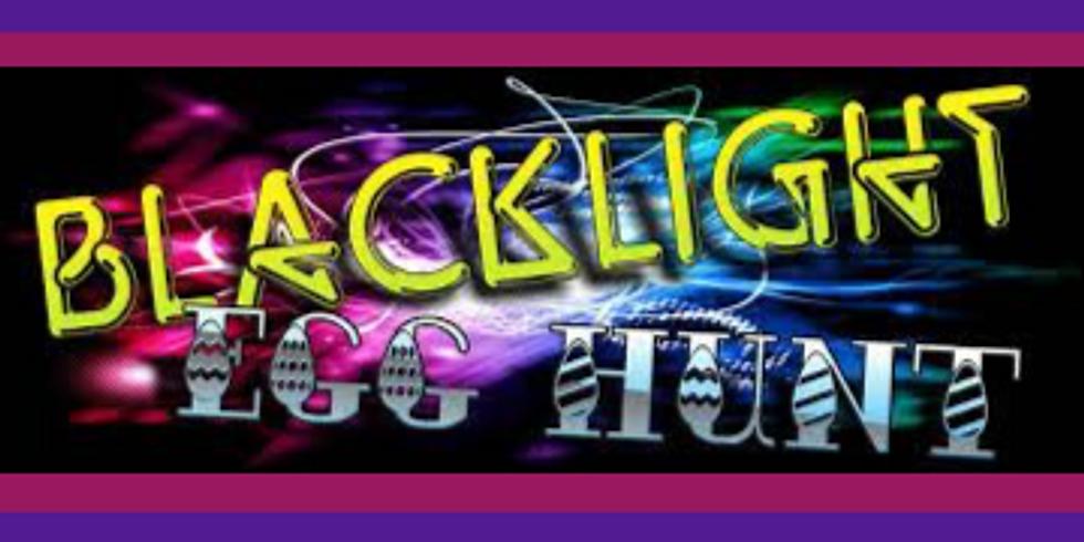 Blacklight Egg Hunt Outreach
