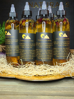 Everything Growth Oil Potion (Herbal Scalp & Hair Oil)