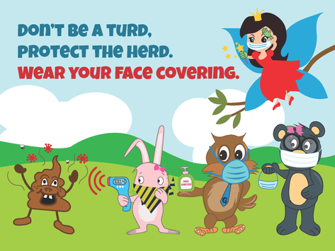 Wear Your Face Covering Campaign