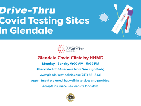 COVID-19 Testing in Glendale