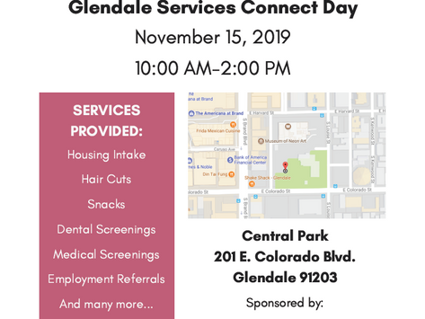 Homeless Connect Day 2019