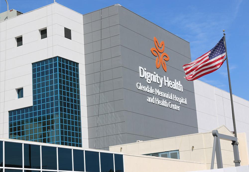 Glendale Memorial Hospital History