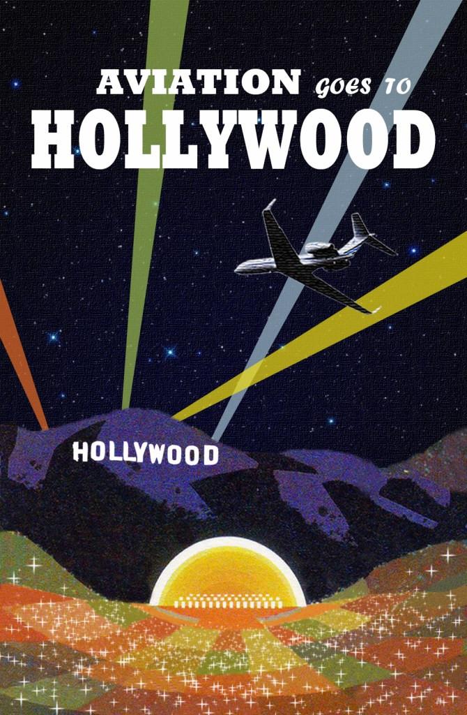 Hollywood Burbank Airport Banner Art