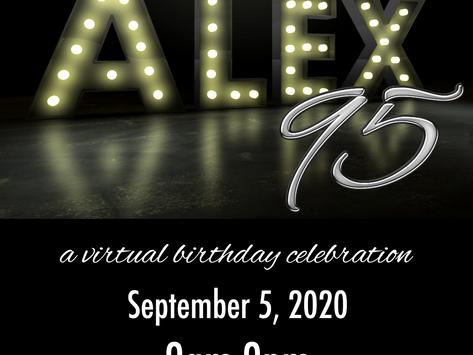Celebrate the Alex Theatre's 95th Birthday!