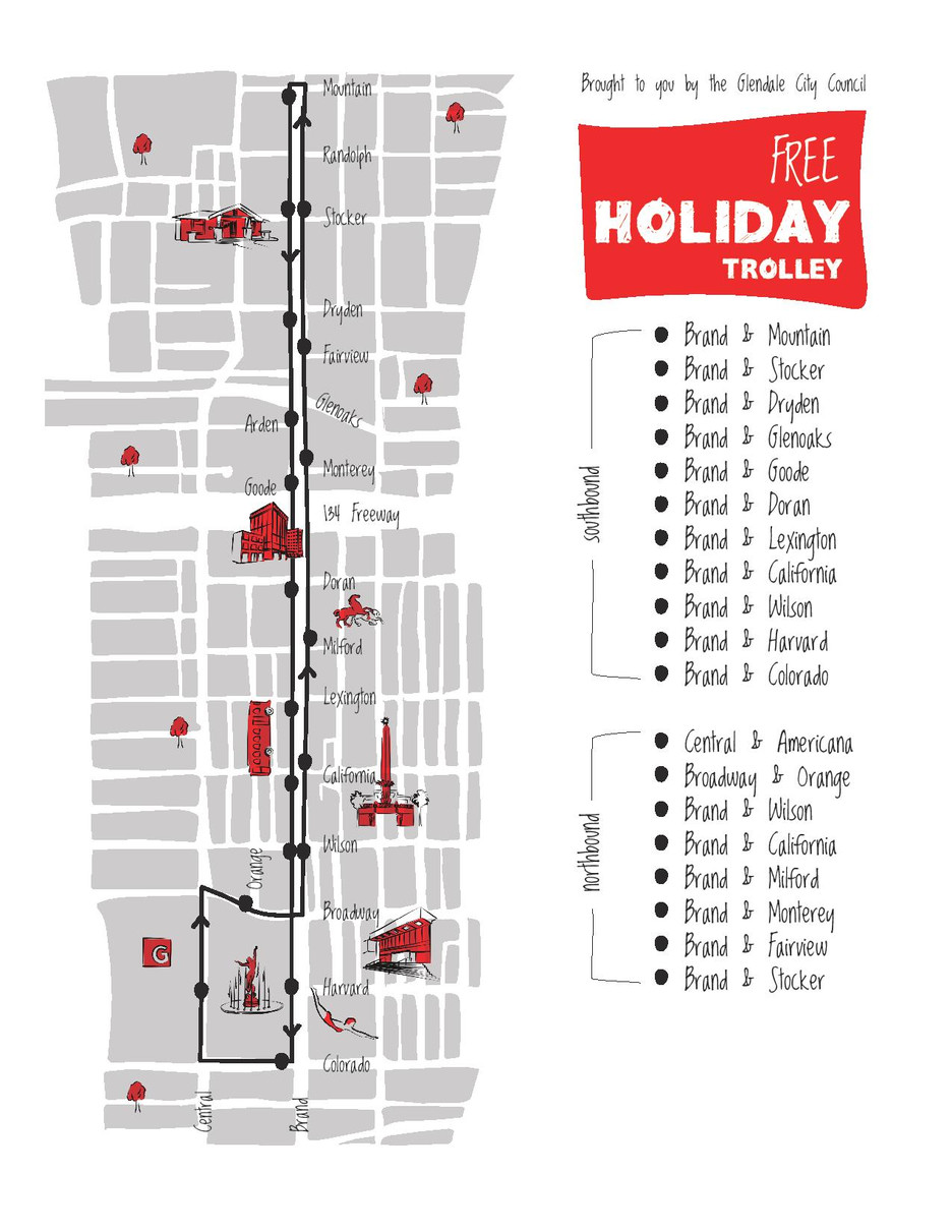 Council Approves Downtown Holiday Trolley Service MyGlendale City News