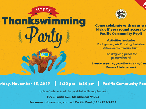 Happy Thankswimming Party