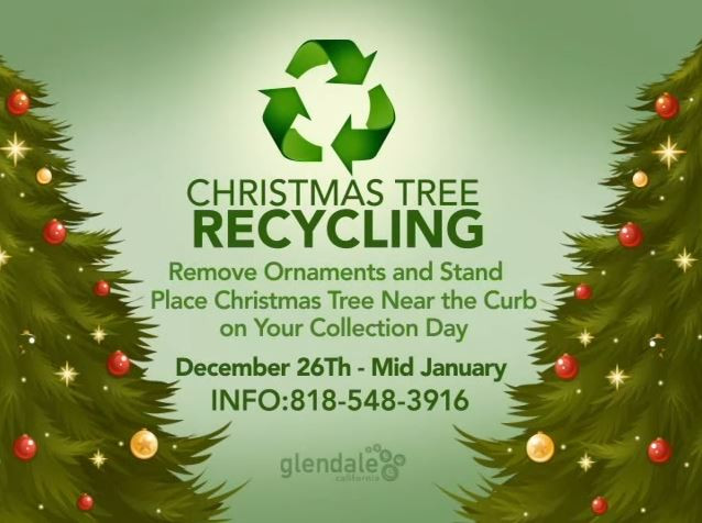 City of Glendale | Christmas Tree Pick Up