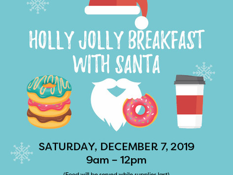 Holly Jolly Breakfast with Santa