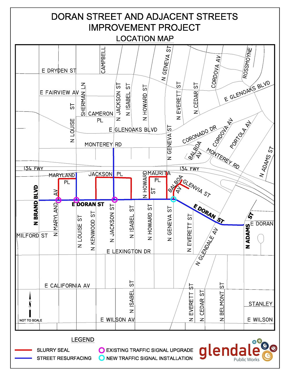 Glendale Construction Delays