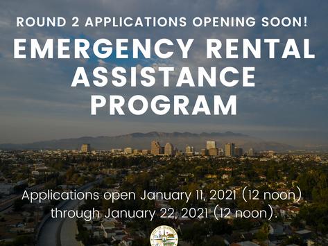 ROUND 2 - EMERGENCY RENTAL ASSISTANCE PROGRAM TO HELP GLENDALE RENTERS