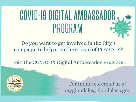 COVID-19 Digital Ambassador Program