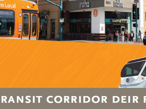 NoHo - Pasadena Transit Corridor Public Hearing  and Draft Environmental Impact Report (DEIR) Review