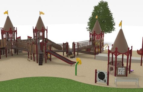 Maple Park All-Inclusive Playground Grand Opening August 17